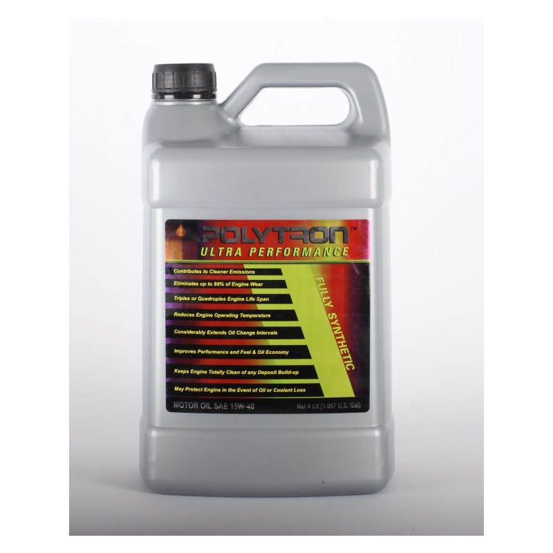 Fully synthetic motor oil 15w 40 4l polytron romania shop for Which motor oil is thicker